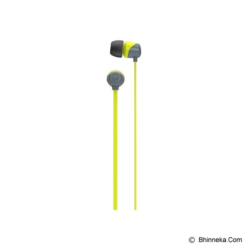 SKULLCANDY Jib In-Ear [S2DUFZ-385] - Gray/Hot Lime/Hot Lime - Earphone Ear Monitor / Iem